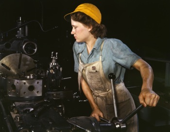 Cranking out the courses in the basement factory