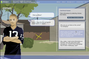 Screenshot of activity