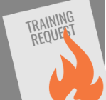 Training request form on fire