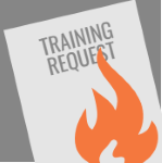 Burn your training request form