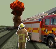 Screenshot of scenario-based training