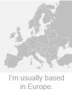 Usually based in Europe