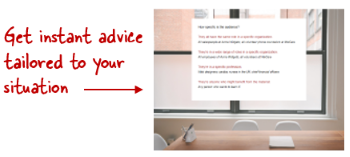 Get instant advice