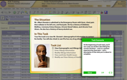 Screenshot of medical software training