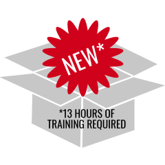 New thing requires 13 hours of training