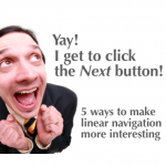I get to click the Next button!