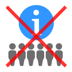 Group of iconic people being subjected to an information dump