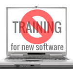 How to design software training, part 1