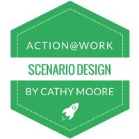 Scenario-based training design badge