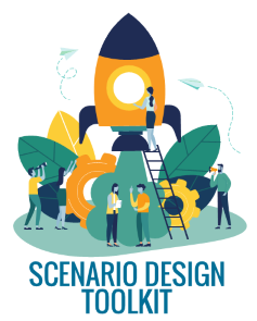 Design scenario-based training