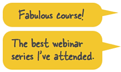 Testimonials for scenario design webinar series